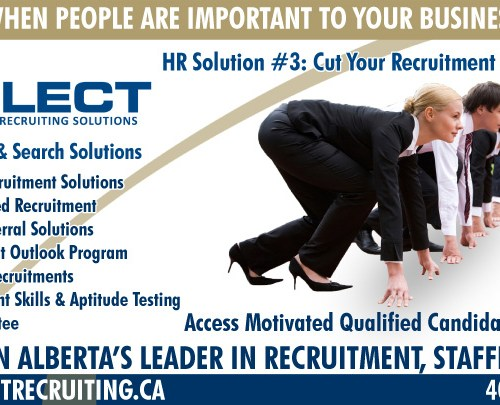 Select Recruiting Division Ads (2 of 4)