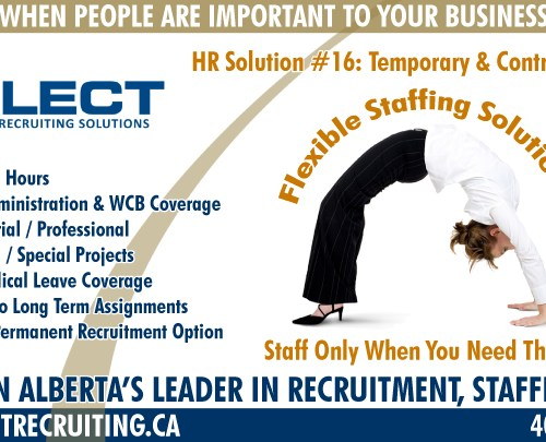 Select Recruiting Division Ads (3 of 4)