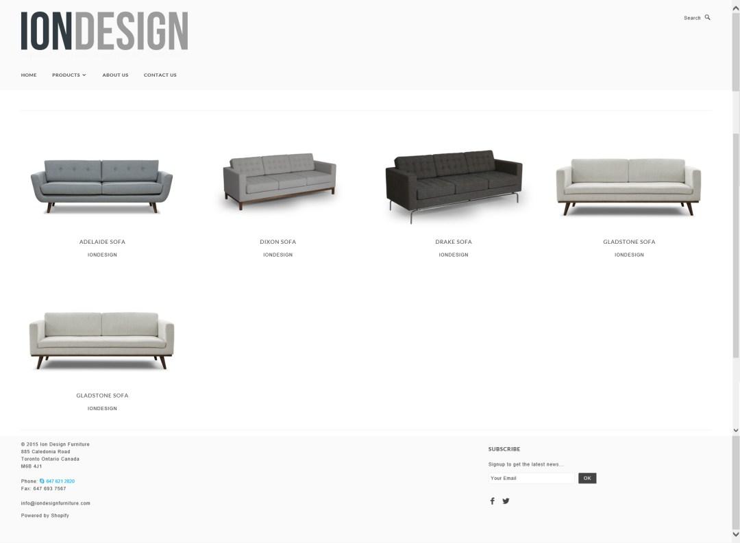 Website - ION Design-Items
