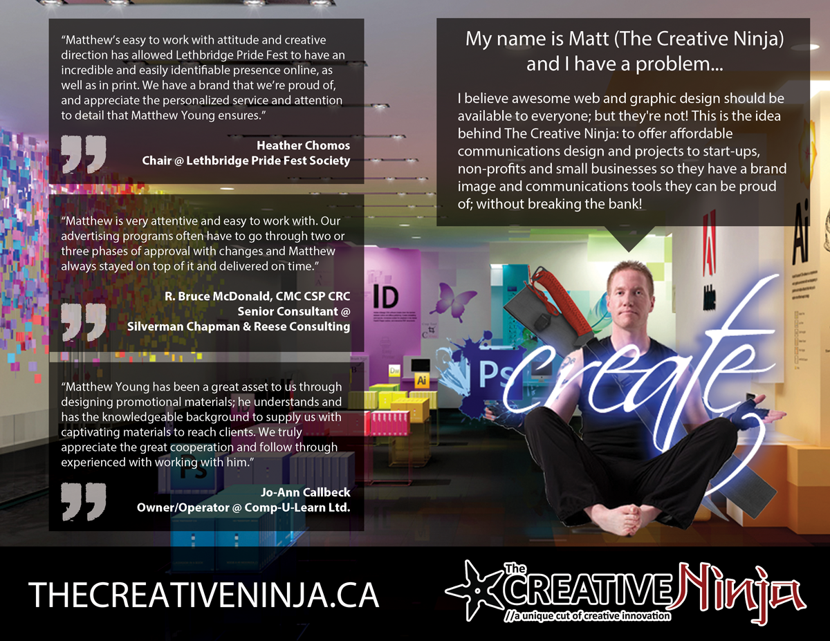 The Creative Ninja Marketing Book - Covers