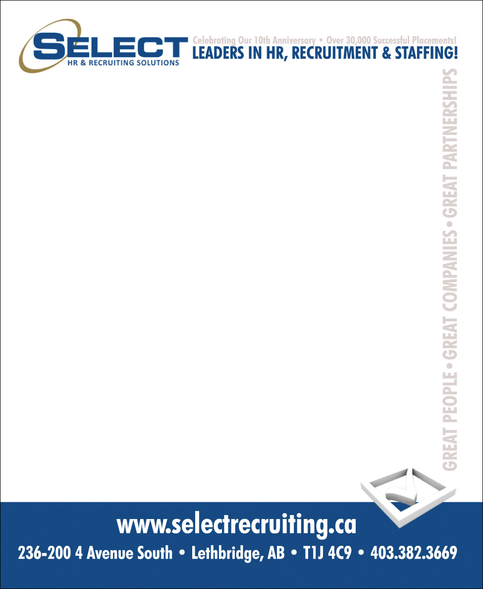 Select Recruiting - Mini Notepad