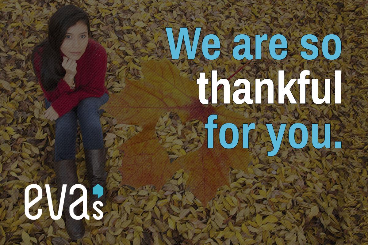 Eva's Thanksgiving 2016 Graphic