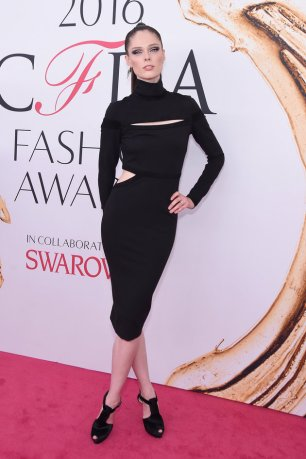 NEW YORK, NY - JUNE 06: Model Coco Rocha attends the 2016 CFDA Fashion Awards at the Hammerstein Ballroom on June 6, 2016 in New York City. (Photo by Jamie McCarthy/Getty Images)