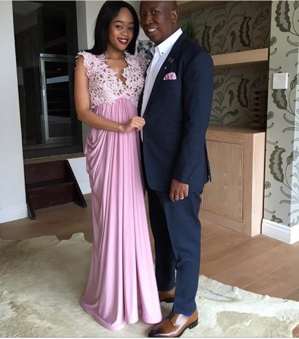 Julius Malema and Wife Durban July 2016