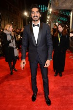 Mandatory Credit: Photo by Richard Young/REX/Shutterstock (8343326bn) Dev Patel EE BAFTA British Academy Film Awards, Arrivals, Royal Albert Hall, London, UK - 12 Feb 2017