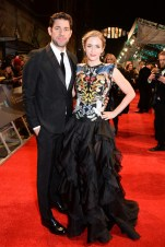 Mandatory Credit: Photo by Richard Young/REX/Shutterstock (8343326ci) John Krasinski and Emily Blunt EE BAFTA British Academy Film Awards, Arrivals, Royal Albert Hall, London, UK - 12 Feb 2017