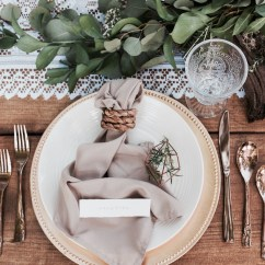 Farmhouse Tables And Chairs Outdoor Wood Rocking Chair Black Boho Chic & Natural Table Decor Styled Shoot At Botanical Gardens