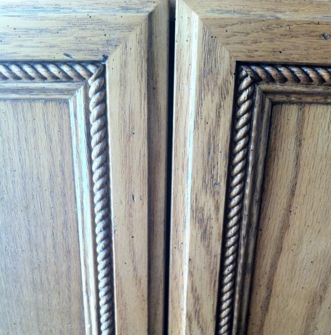Close up of door/drawer detail