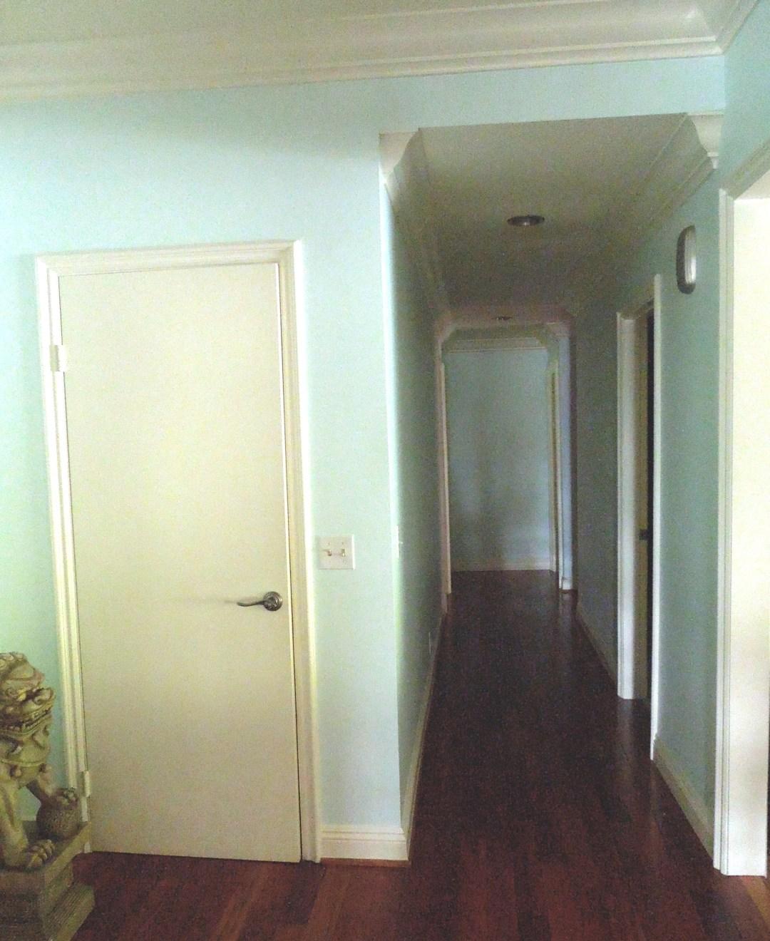 Bare Naked Hallway
