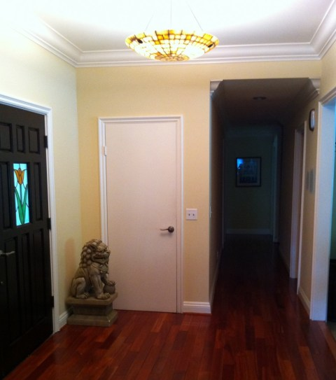 My Entryway Before