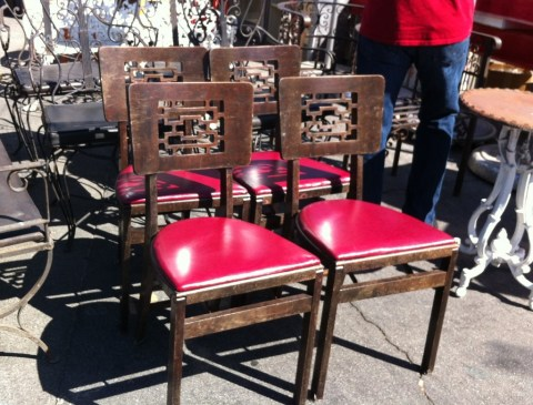 4 chairs $175