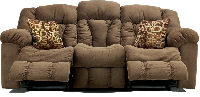 Lybra-brown-fabric-reclining-sofa