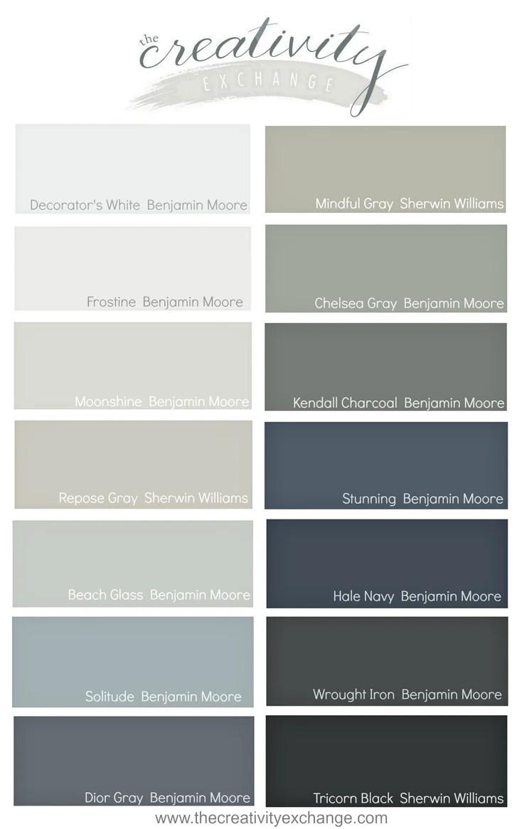 Charcoal Paint Color : charcoal, paint, color, Paint, Colors