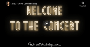 Welcome to the Concert