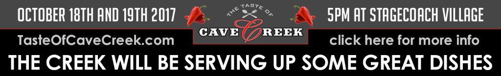 Taste of Cave Creek 2017 - The Creek Patio Grill