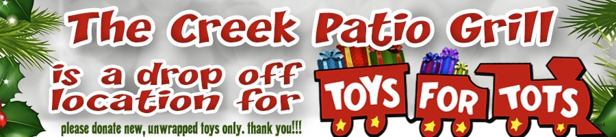 The-Creek-Patio-Grill-Drop-Off-Location-for-Toys-For-Tots