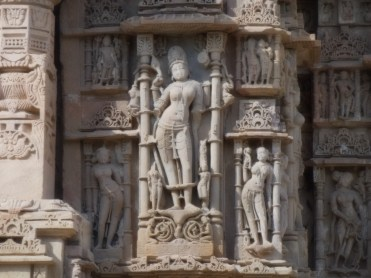 Detail at Sun Temple