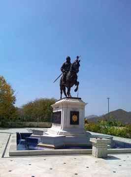 Rana Pratap Statue