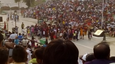 Wagah Dancing in the streets