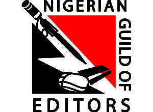 Nigerian Guild of Editors logo