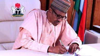 Buhari signs