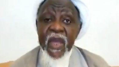 El-Zakzaky in the video (Photo-Punch)