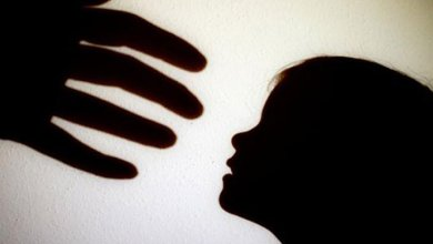 Silhouette of child abuse-(Illustration-Dhaka Tribune)