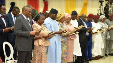 The new cabinet members(Photo-Channels TV)