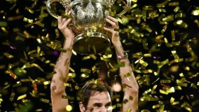 Champion again-Federer (Photo-AFP)