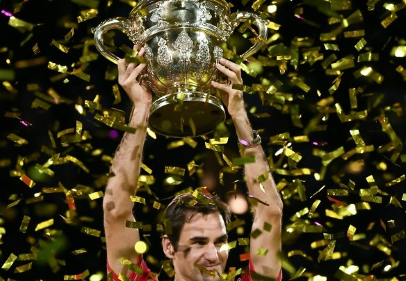Champion again-Federer (Photo-AFP)