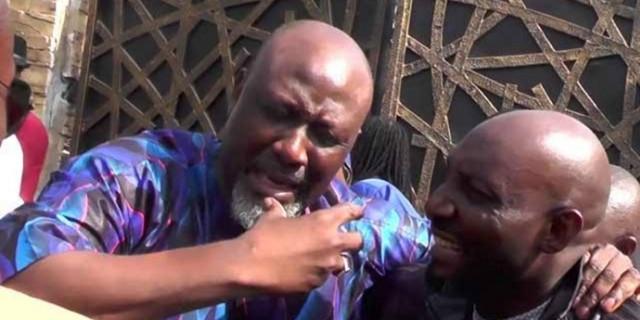 Dino Melaye buries nephew killed during Kogi election
