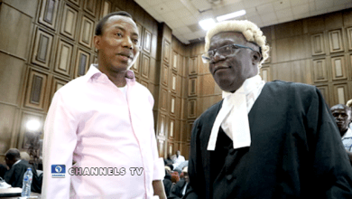Sowore and Falana, his lawyer