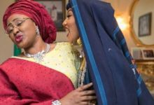 irst Lady, Aisha Buhari, during her daughter's wedding
