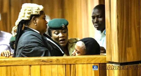 Maryam Sanda breaks down in the dock after her sentencing