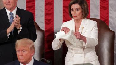 Pelosi rips Trump's speech