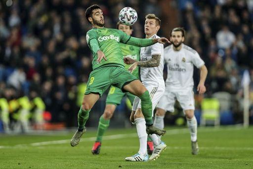Real Sociedad eliminates Real Madrid in Copa del Rey(Photo credit-Yahoo Finance)