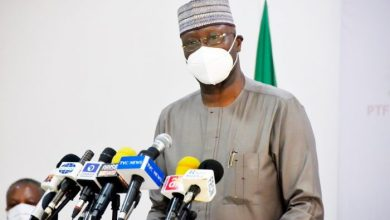 Mr. Boss Mustapha, Secretary to the Government of the Federation and Chairman, Presidential Task Force on COVID-19