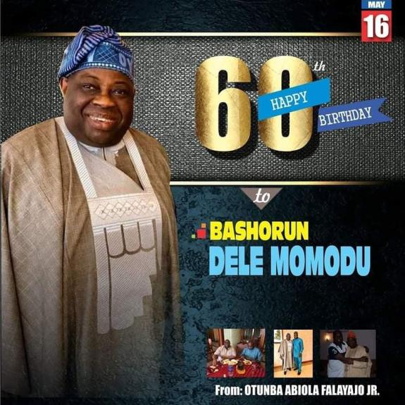 Dele Momodu at 60