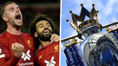 Liverpool cast eyes on Premier League Trophy