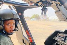 Flying Officer Tolulope Arotile (Photo credit-BBC.com)
