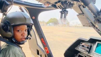 Flying Officer Tolulope Arotile (Photo credit-BBC.com)