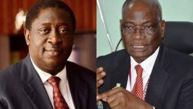 Dr. Wale Babalakin and Prof. Oluwatoyin Ogundipe