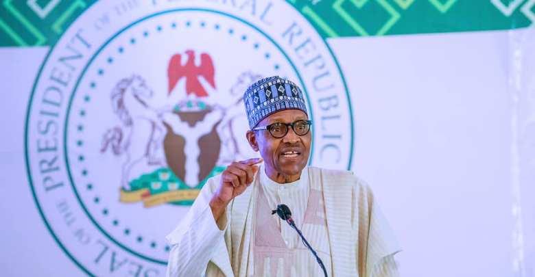 President Muhammadu Buhari at the event