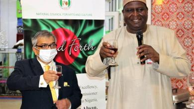 Otunba Olusegun Runsewe a toast to Mr. Md Ahsan