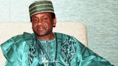 Gen. Sani Abacha-became NIGERIA'S Head of State in November 1993 after ousting the Interim President, Mr. Ernest Sonekan in a palace coup