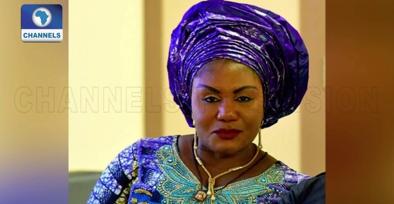 Chief Mrs. Ebele Obiano(Photocredit: Channels TV)
