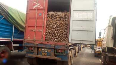 Trailers bearing foodstufs being diverted to Niger