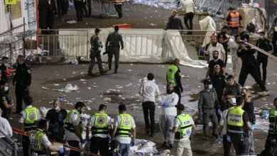 Israel festival chaos