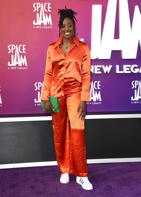 WNBA basketball player Nneka Ogwumike, of the Los Angeles Sparks (Photo: Jordan Strauss/Invision/AP)