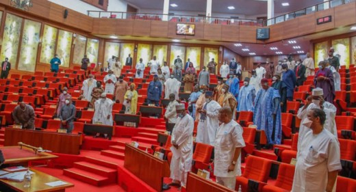 Senate in one of its sessions